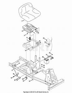 Mtd 13b326jc758  2014  Parts Diagram For Seat  U0026 Electrical