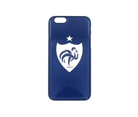 siege de la fff coque iphone 6 fff blason bleu footcenter