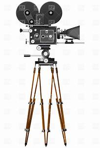 Retro Movie Camera Royalty Free Vector Clip Art Image ...