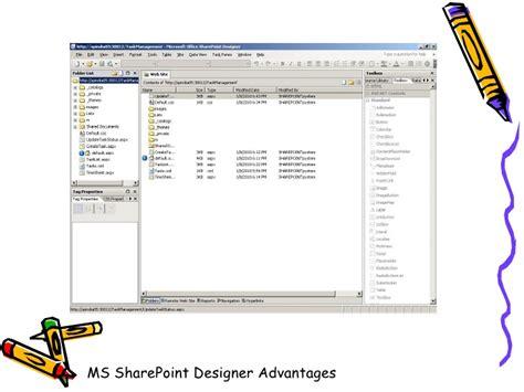 microsoft sharepoint designer sp designer advantages and disadvantages dipali shiledar