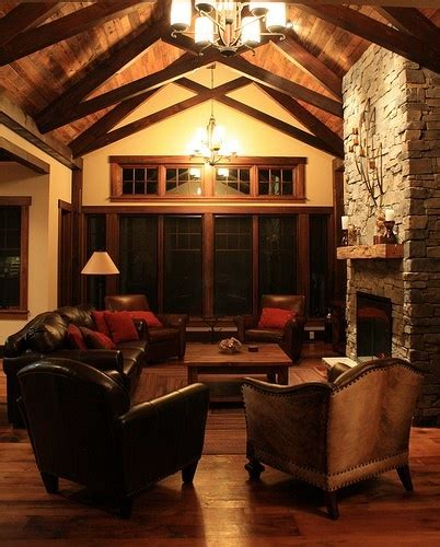 Great Room with Beams