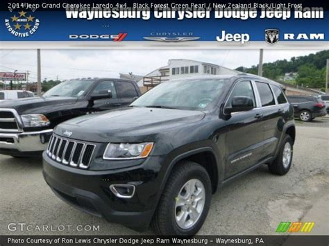 green jeep cherokee 2014 black forest green pearl 2014 jeep grand cherokee laredo