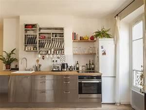 Cuisine équipée Bois : cuisine bois massif ikea ikea cuisine blanc laqu pinacotech ~ Premium-room.com Idées de Décoration