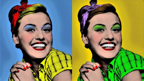 Photoshop Tutorial How To Make A Warholstyle, Pop Art