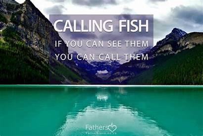 Fishy Calling Fish Lake Place Mirjam Standing