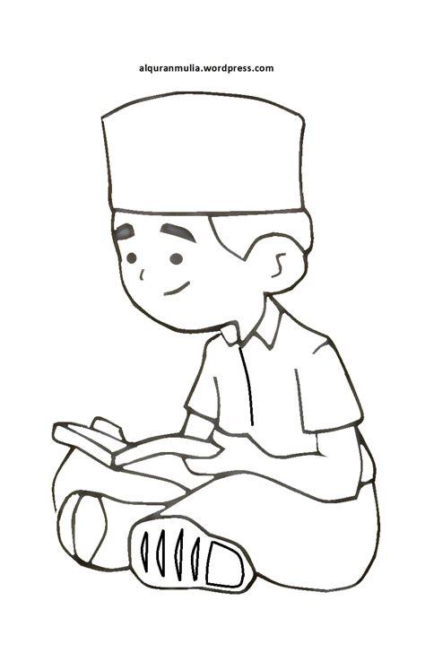 gambar kartun anak berbakti   tua top gambar