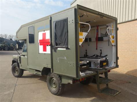 land rover  defender wolf rhd ambulance  sale