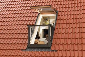 Dachfenster Mit Balkon Austritt : die verschiedenen dachfenstertypen dach fenster baustoffwissen ~ Indierocktalk.com Haus und Dekorationen