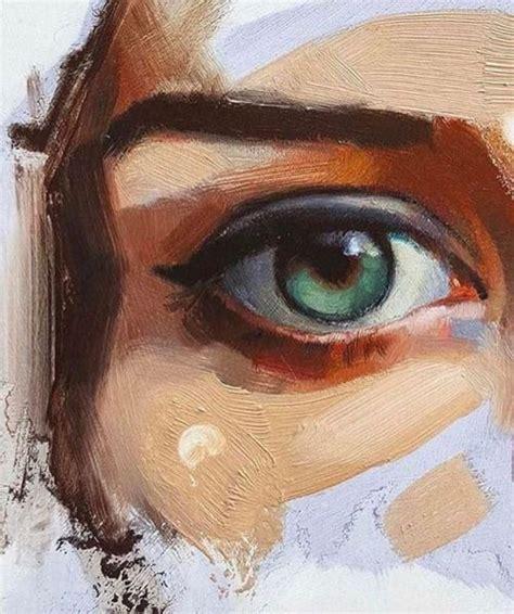 beautiful eyes oil painting art httplometscom