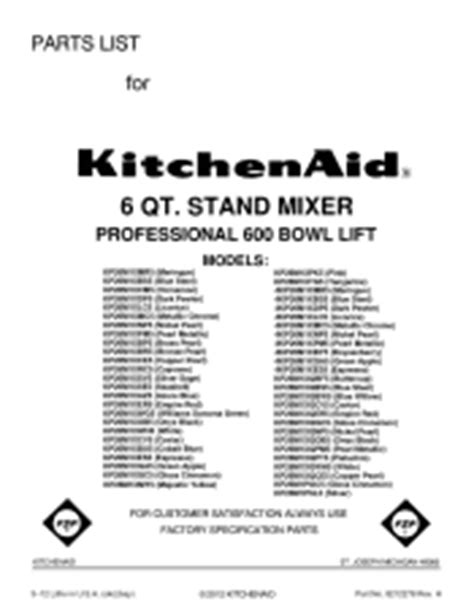 Kitchenaid Parts Ri by Kitchenaid Superba Kitchenaid Superba Dryer Parts List