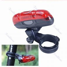 New High Power 5 Led 3 Mode Cycling Bicycle Bike Caution Safety Rear T Etzetra