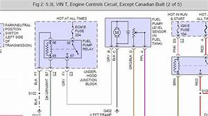 2000 Chevrolet Silverado Complete Fuel Pump Diagram  I Can