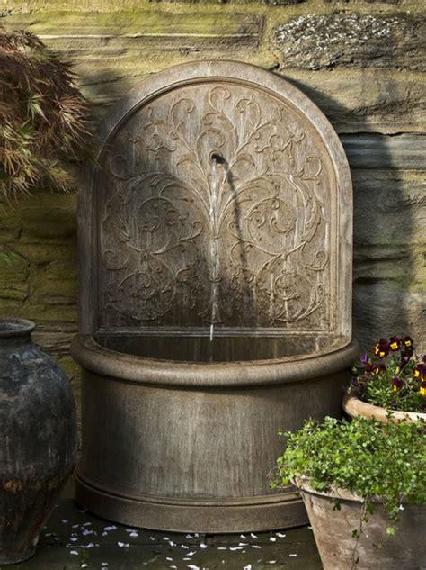 Wandbrunnen  Elegante Ideen, Wie Sie Den Außenbereich
