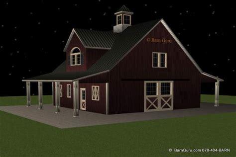 shedaria  horse barn plans  living quarters