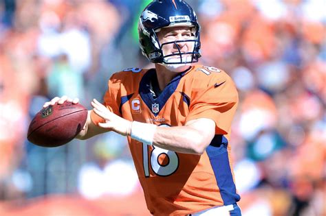 Peyton Manning Is Outdoing Himself But It All Comes Down