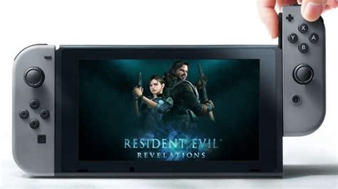 Resident Evil For Switch Switch Version Of Re Revelations 1 2 Supports Amiibo And
