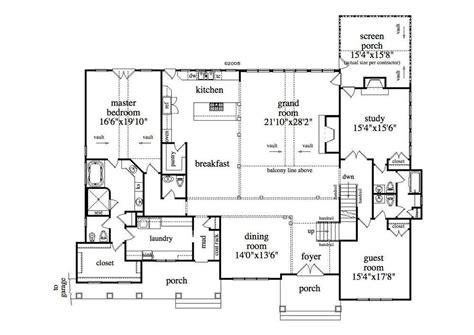 Floor Plans For 1 Story Homes by Single Floor House Plans With Basement E Story