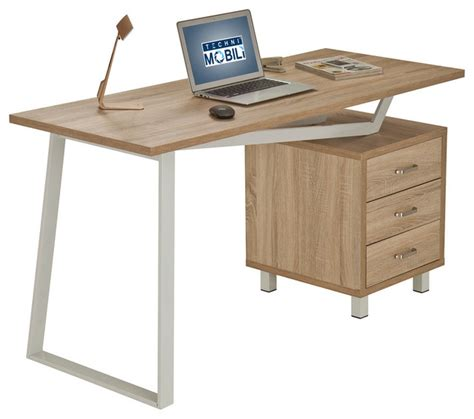 techni mobili modern design computer desk with storage