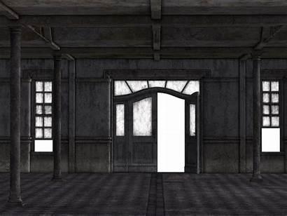 Empty Space Open Void Hall Door Factory
