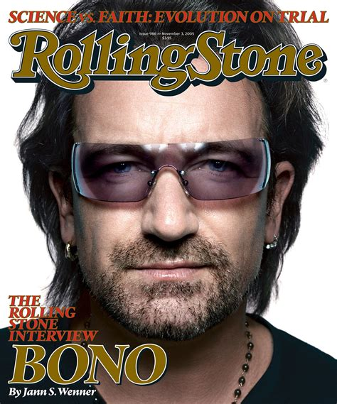 bono magazine cover 2 u2start photos bono on the rolling stones