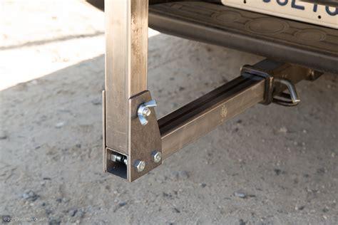 diy trailer hitch bench vise mount ocabjnet