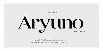 Font Elegant Classic Fonts Alphabet Lettering Number
