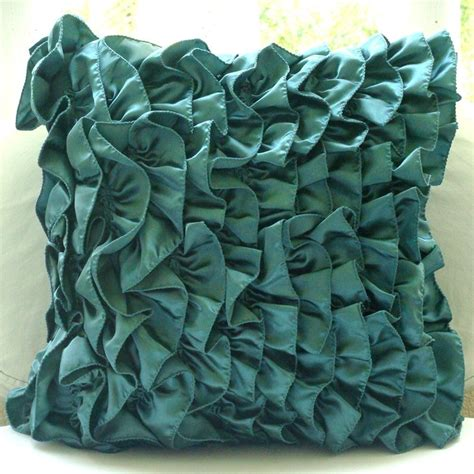 teal colored pillows how to choose the right pillows
