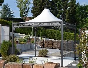 Gartenpavillon Metall Mit Festem Dach : referenzen mein gartenpavillon ~ Bigdaddyawards.com Haus und Dekorationen