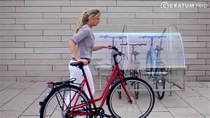 Fahrradgarage 4 Fahrräder : fahrradgarage ceratum trio f r 2 4 fahrr der youtube ~ Buech-reservation.com Haus und Dekorationen