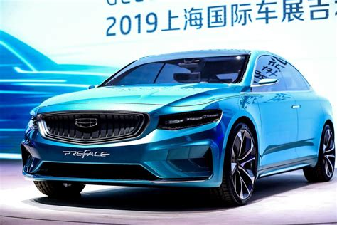 electric sedans  winning  shanghai auto show  verge
