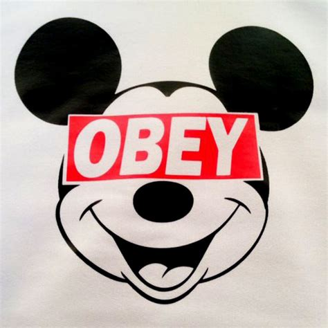 mickey mouse obey www imgkid the image kid has it