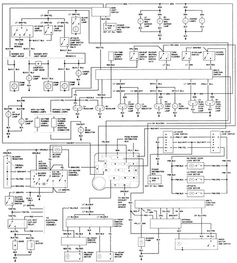 1989 Bronco 2 Wiring Diagram by Repair Guides Wiring Diagrams Wiring Diagrams