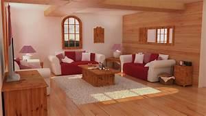 Decoration Interieur Chalet Bois : idee deco chalet bois l 39 habis ~ Zukunftsfamilie.com Idées de Décoration