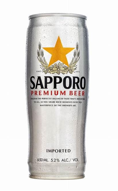 Sapporo Beer Premium Draft 650ml Keg Makoto