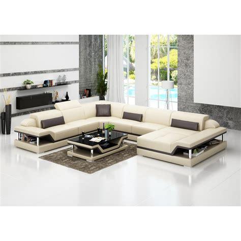 canapé dwg canapé d 39 angle panoramique en cuir xl pop design fr