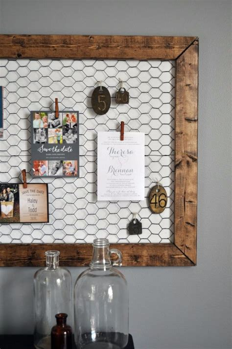 clever diy chicken wire rustic decor ideas   home