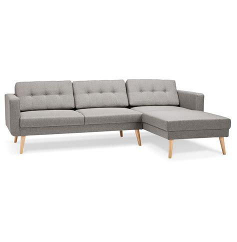 canape d angle avec meridienne canapé d 39 angle colonel gris clair avec méridienne à droite
