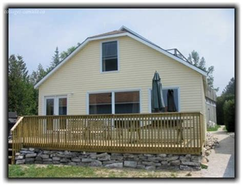 Ontario Cottage Rentals Waterfront Cottage Rentals In Bruce Peninsula Vacation