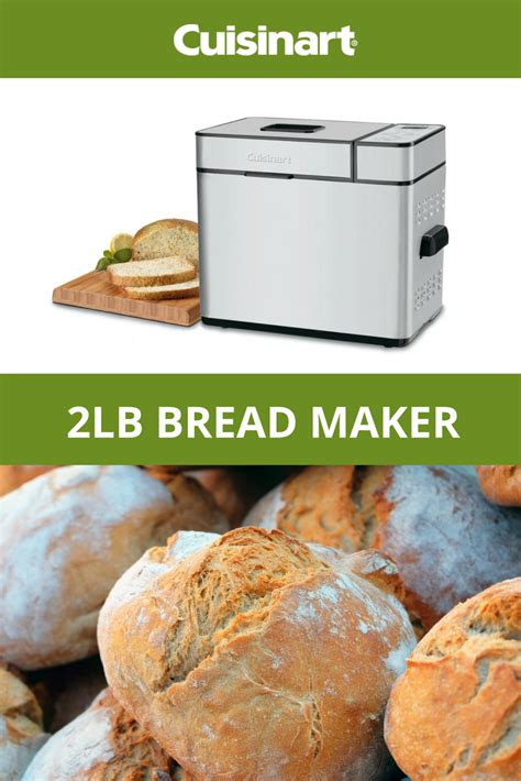 This is usually a result of the specific recipe used not being suited for breadmakers. The Cuisinart® 2lb Bread Maker has 12 preprogrammed options to choose from and a convenient 13 ...