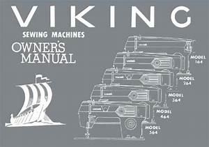 Viking 164  264  364  464  564 Sewing Machine Manual