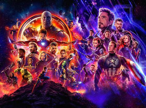 Avengers: Infinity War & Endgame Fond d'écran HD | Arrière ...