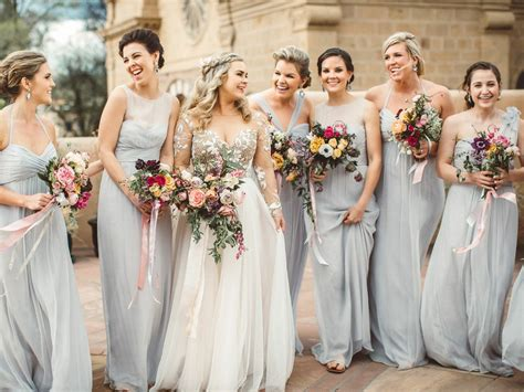 gray bridesmaid dresses  shop