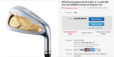 Justin Rose to Play Honma Irons in 2019