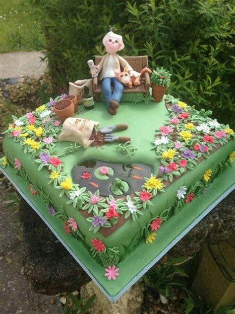 pin  sharleen christensen  cake ideas garden cakes