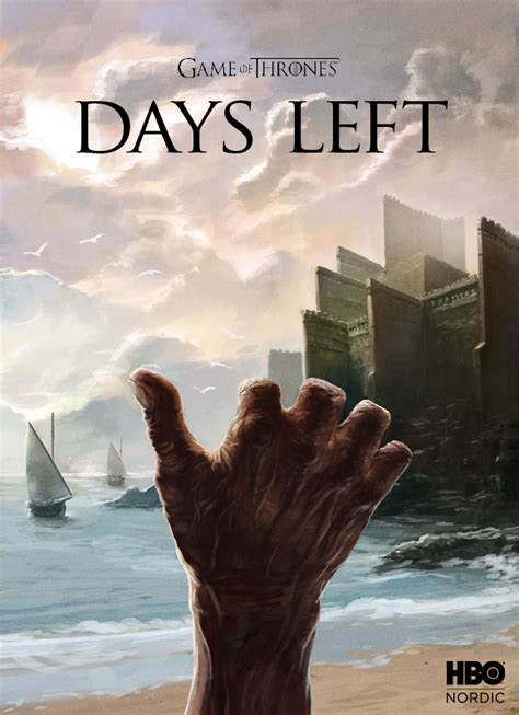 brilliant game  thrones posters countdown   start