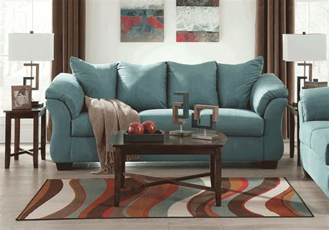 loveseat c chair darcy sky sofa evansville overstock warehouse