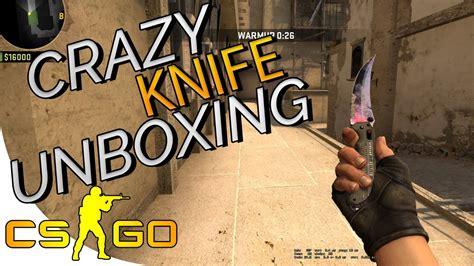 cs go knife unboxing reaction