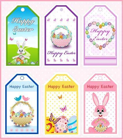 Easter Basket Labels Festival Collections Free Easter Gift Tags To Print Festival Collections