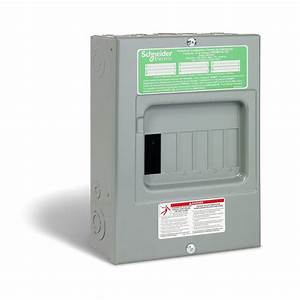 Homeline 100 Amp Sub Panel Loadcentre With 6 Spaces  12