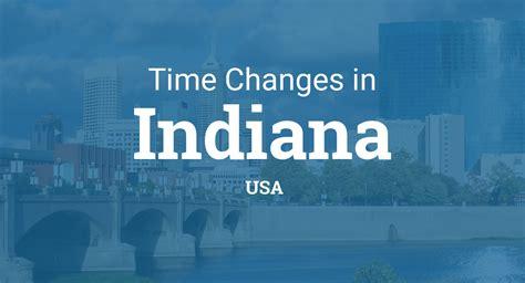 daylight saving time   indiana united states